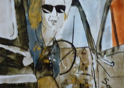 Abbey Road Something, 1987, 65 x 50 cm, acryl en inkt pap. (niet te koop)