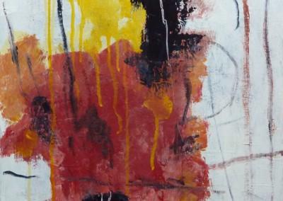 Amaryllis, 2012, olie-doek, 40 x 40 cm