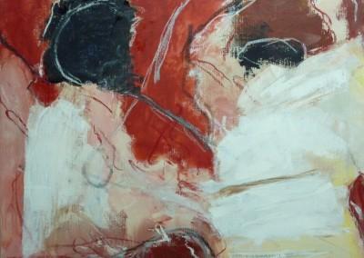 Annunciatie, 2010, olie-doek, 60 x 80 cm