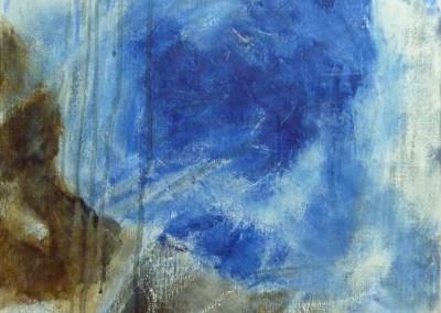Aqua, 2012, olie-doek, 60 x 40 cm