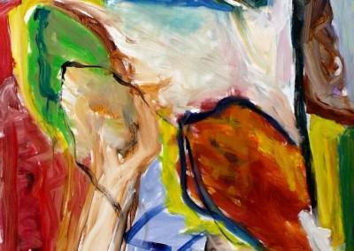 Avril-sur-le Cousin, no. 35, 2009, acryl-doek, 190 x 145 cm