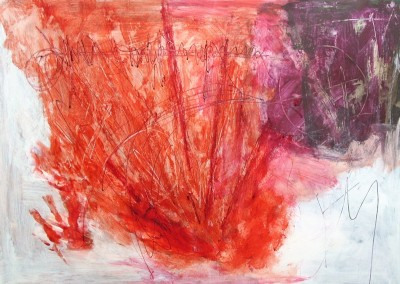 Lyrisch abstract – acryl op papier – jaren 00