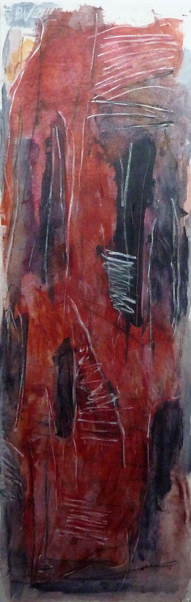 Banier 30, Sjanghai, 2011, 200 x 65 cm