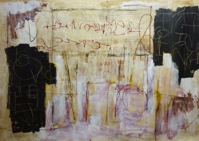Baudelaire, 2010, 100 x 150 cm, acryl-pap.