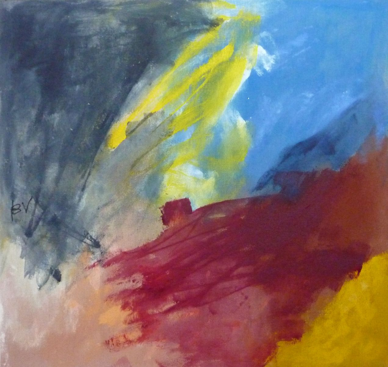Lyrisch abstract – acryl op doek – 2010-2012