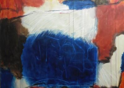 Colored, 25-1-06, olie-doek, 100 x 120 cm