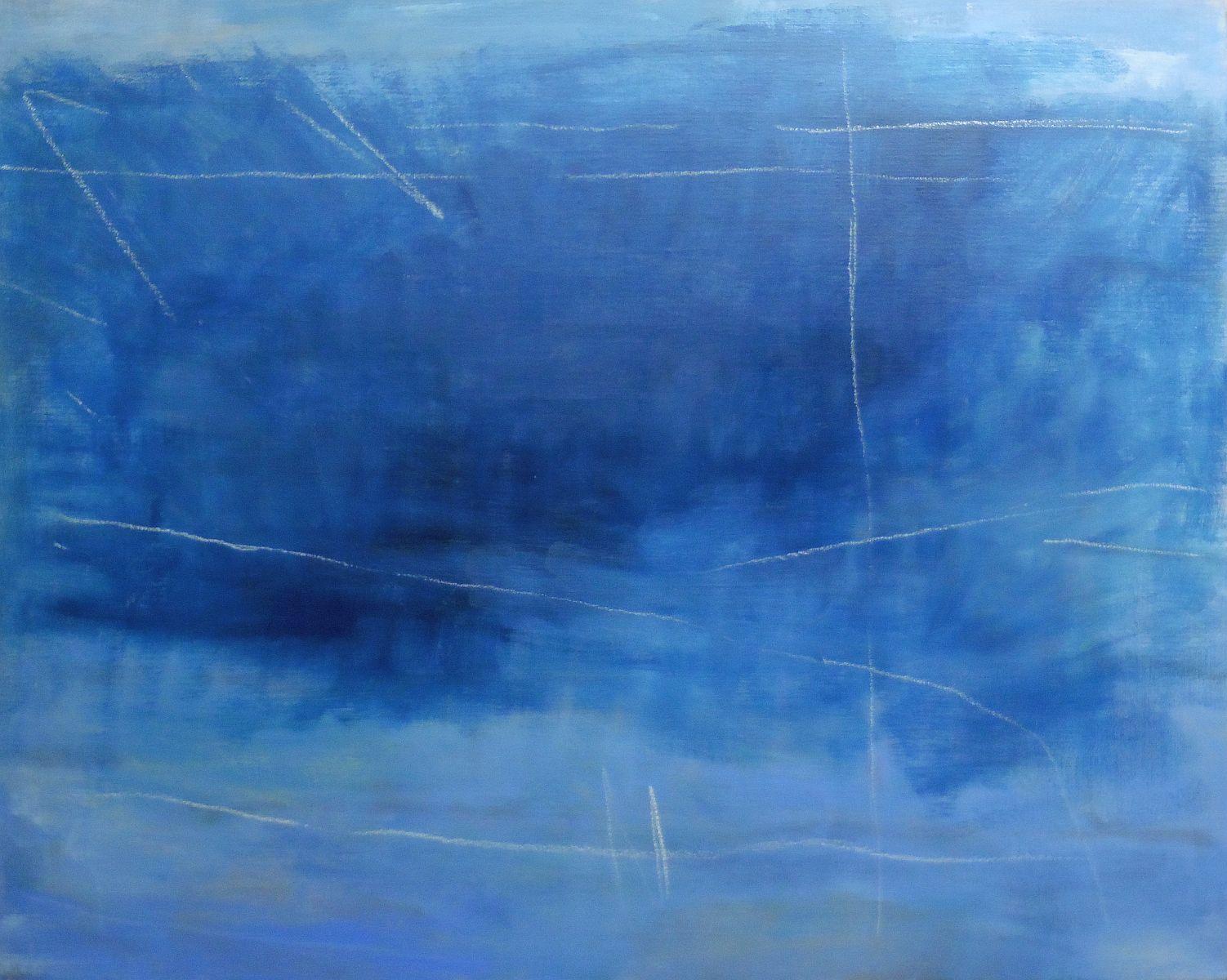 Lyrisch abstract – olieverf op doek – jaren 00