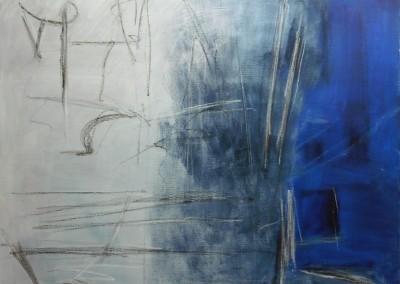 Druide, 4-9-06, olie-doek, 80 x 100 cm
