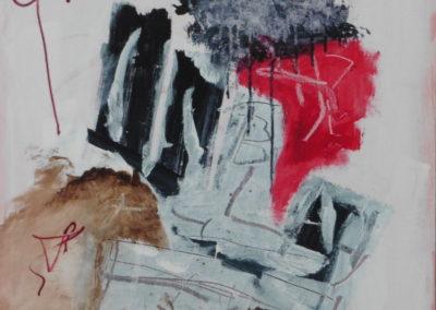 Engel der onschuld, 2018, 80 x 60 cm, acryl doek