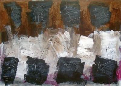 Famagusta, 22-9-06, acryl-pap., 70 x 100 cm