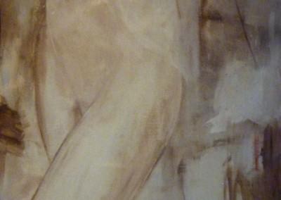 Hemdje, 1987, 80 x 60 cm, olie doek (niet te koop)