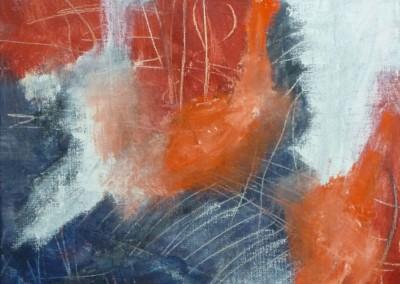 Ignis, 2012, olie-doek,  60 x 40 cm