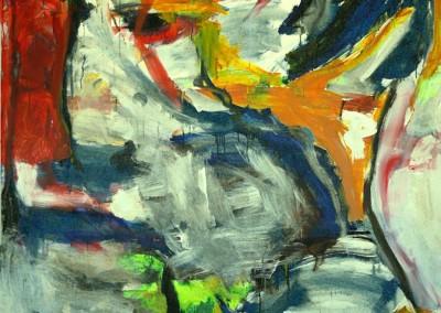 Le Sang du Cousin,  no. 32,  2009, acryl-doek, 190 x 145 cm