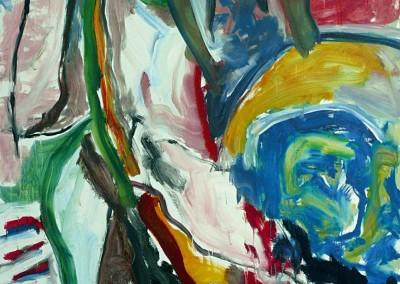 Le-reve-de-glace, no. 44, 2009, acryl-doek, 190 x 145 cm