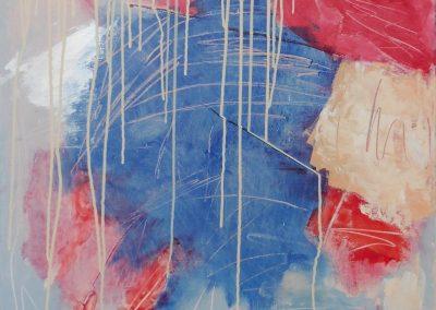 Leda, 2017, 70 x 90 cm, acryl doek