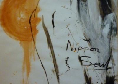 Nippon Soul 1986, 65 x 50 cm, acryl inkt pap. (niet te koop)