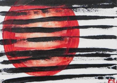 Lyrisch abstract – acryl op doek – 2019