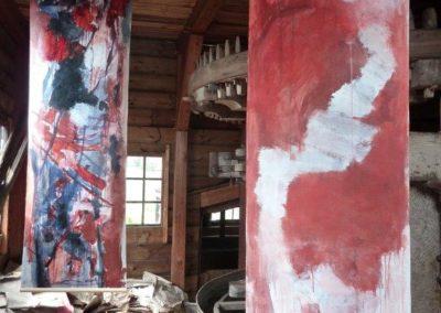 Installatie Papiermolen 2010