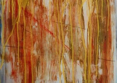 Samojeden, 27-9-05, acryl-pap., 65 x 50 cm