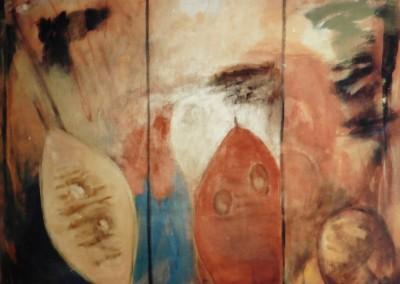 Sneluur, 10-99, olie-doek, 100 x 120 cm, verk