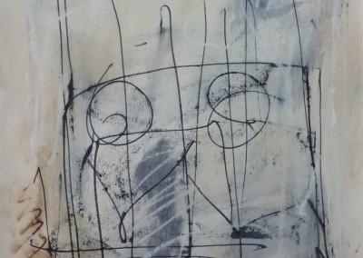 Sonate, 3-5-2011, 65 x 50 cm, acryl-pap.