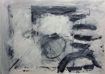 Lyrisch abstract – acryl op papier – 2010-2012