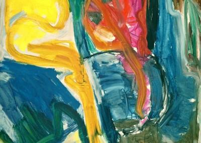 Tableau d'Oc, no.32, 2009, acryl-doek, 190 x 145 cm