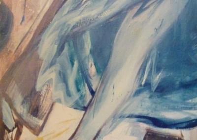Tango, 1987, 90 x 70 cm, olie doek (verkocht)