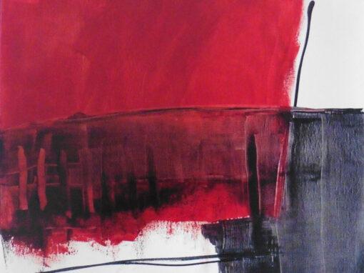 Lyrisch abstract – acryl op doek – 2020