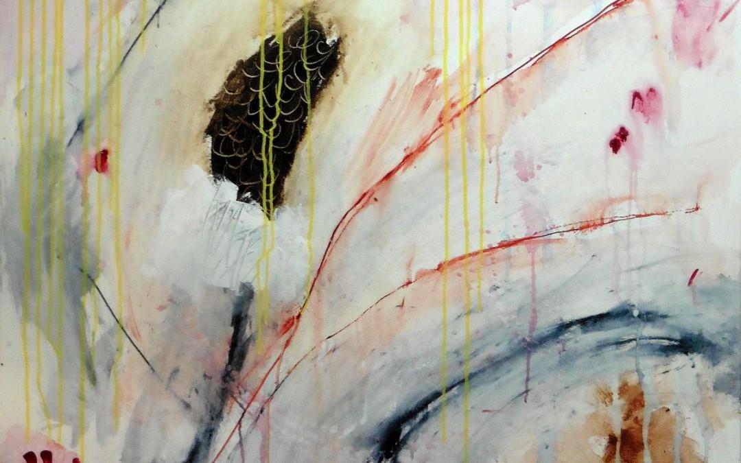 Lyrisch abstract – acryl op doek – 2016