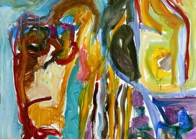Tromp-l-'oeil, no. 45, 2009, acryl-doek, 190 x 145 cm