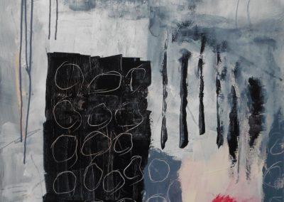 Uylenburg, 2017, 70 x 90 cm, acryl doek