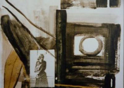 White Light, White Heat, 1987, 65 x 50 cm, acryl inkt pap. (niet te koop)