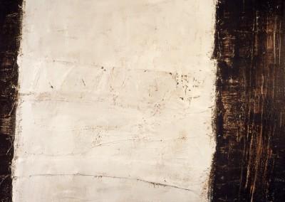 Z.t., 1.7.94, materie-doek, 100 x 120 cm