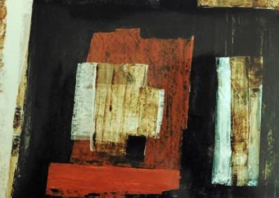 Z.t., 10-4-93, acryl-pap., 70 x 100 cm, verk.