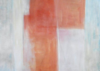 Z.t., 1993, olie-doek, 120 x 100 cm, verk.