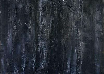 Z.t., 2.1.95, materie-doek, 100 x 120 cm, verk.