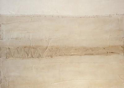 Z.t., 2.10.94, materie-doek, 100 x 120 cm, verk.