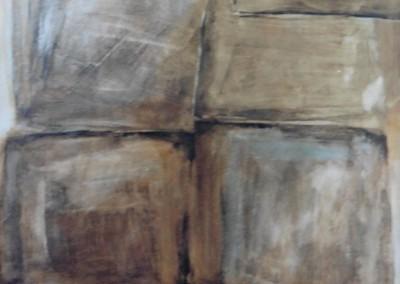 Z.t., 21-2-89, acryl-pap., 100 x 70 cm, niet te koop