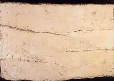 Z.t., 21.6.94, materie-doek, 100 x 120 cm