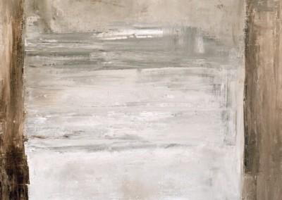 Z.t., 23.1.96, no 329, olie-doek, 100 x 80 cm
