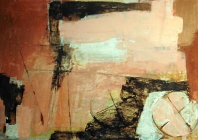 Z.t., 24-1-99, acryl-pap., 70 x 100 cm