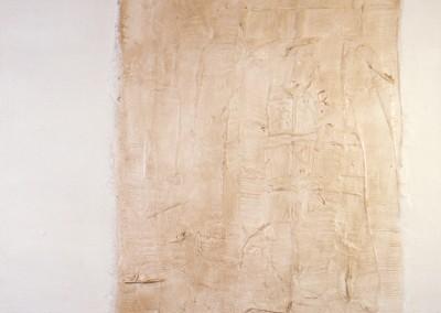Z.t., 24.10.94, materie-doek, 100 x 120 cm