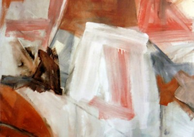 Z.t.,1988, olie-doek, 80 x 100 cm