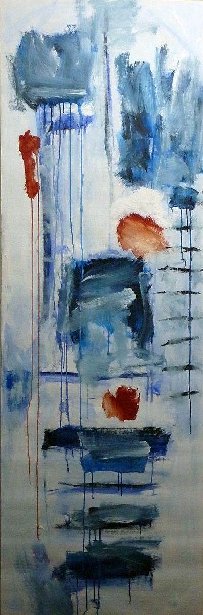 banier 10, Z.t., 2005, 200 x 65 cm