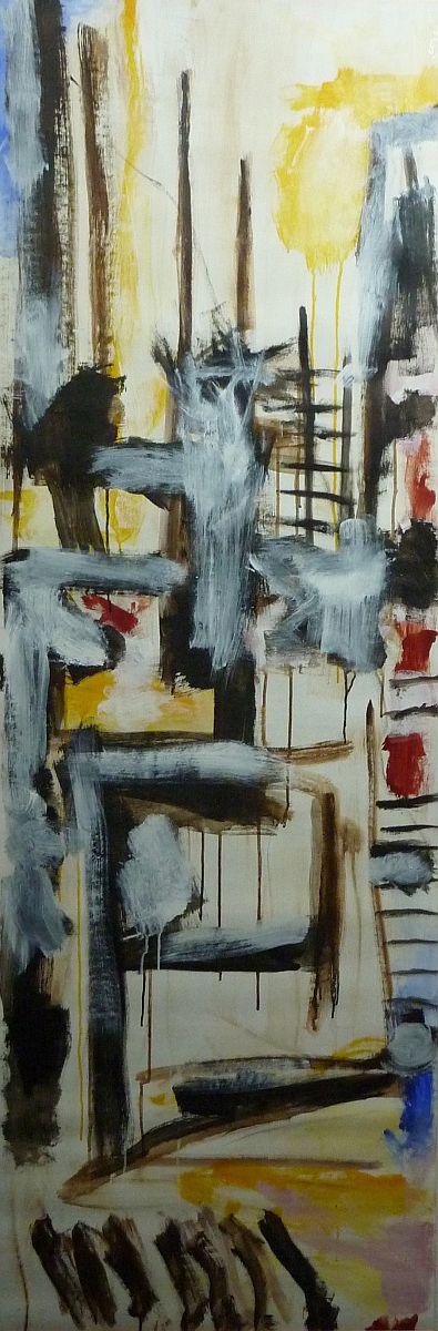 banier 11, Z.t., 2005, 200 x 65 cm