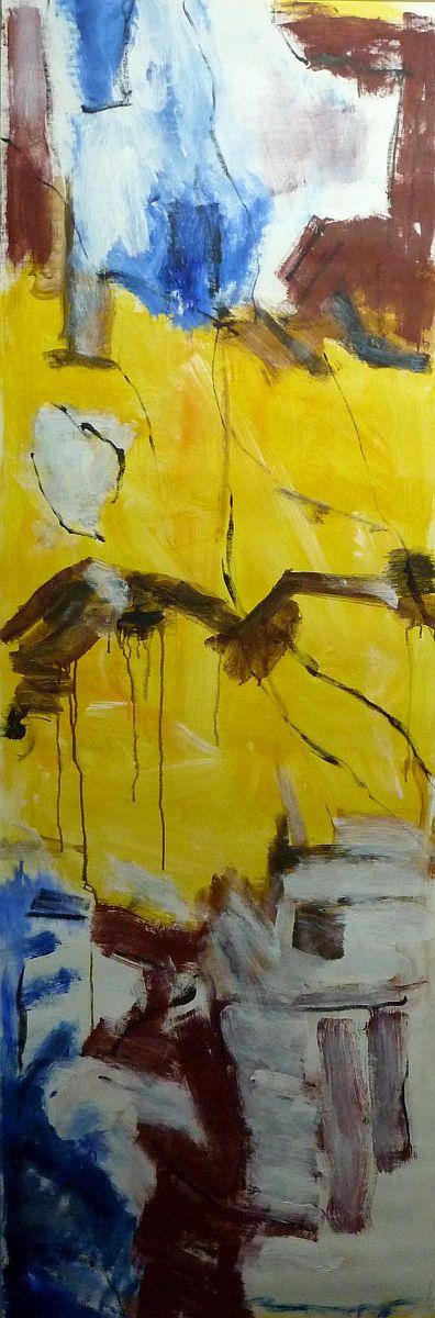 banier 12, Z.t., 2005, 200 x 65 cm