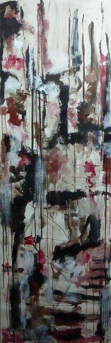 banier 13, Z.t., 2005, 200 x 65 cm