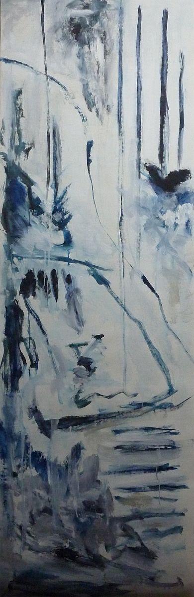 banier 14, Z.t., 2005, 200 x 65 cm