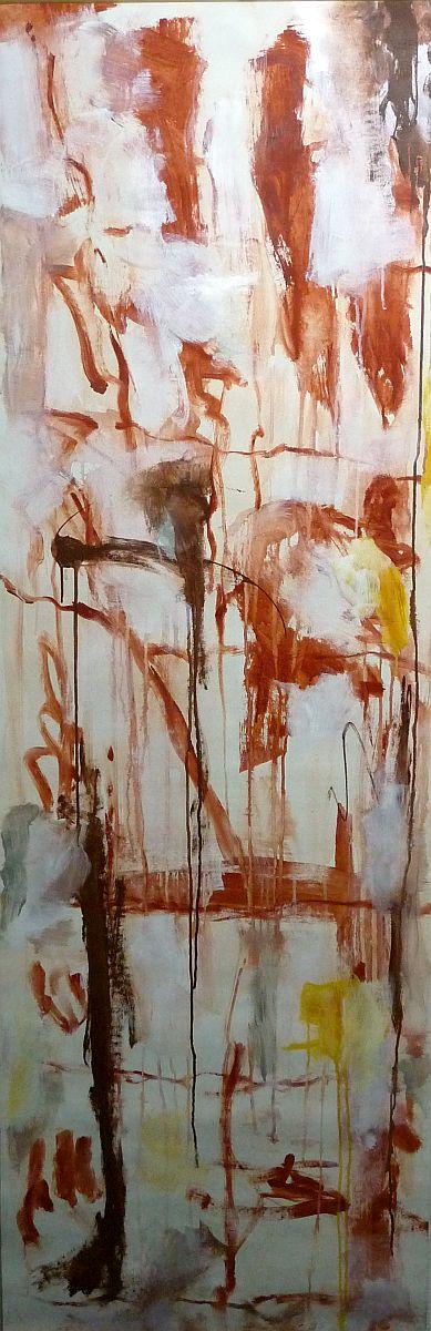 banier 16, Z.t., 2005, 200 x 65 cm